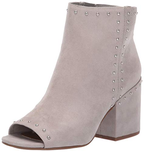 Circus by Sam Edelman Women's Kathi Ankle Boot, Fog Grey Microsuede, 7.5 M US (Circus By Sam Edelman Lace Up Boot)