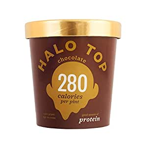 Halo Top Light Ice Cream, Chocolate 16 oz (Frozen)