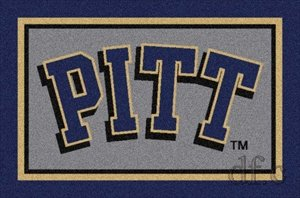 Pittsburgh Panthers Spirit Rug (Panthers Spirit Rug)
