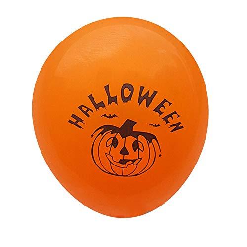 1PC Halloween Latex Balloons Pumpkin Smiley Face Party Bat Skull Print Pirate Ship Ballons Halloween Party Decoration Supplies
