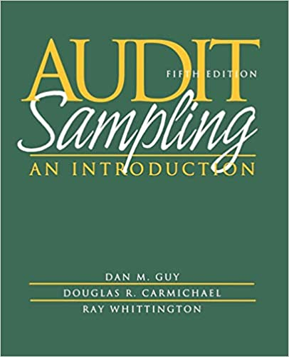 An Introduction to Statistical Sampling in Auditing Audit Sampling