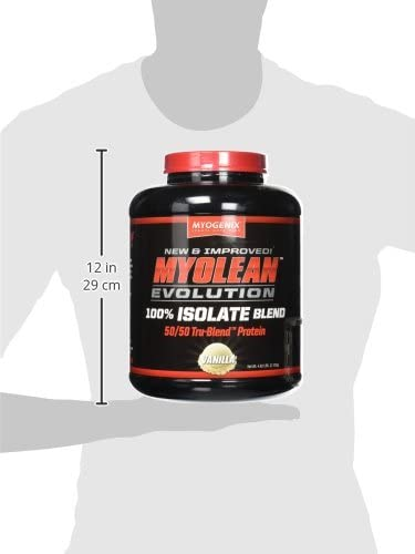 Myogenix Myolean Evolution Isolate Powder, Vanilla Cream, 4.62 Pound