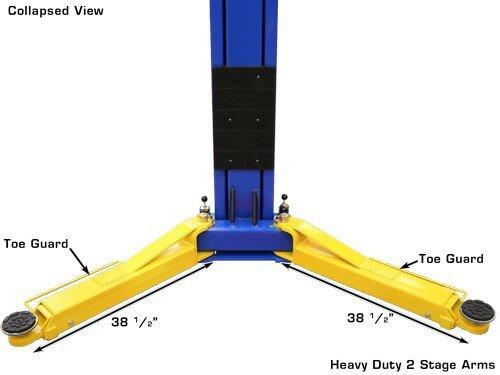 Atlas Equipment (ATEATPKOHX10000X) 10,000 lb  Capacity Overhead 2-Post Lift