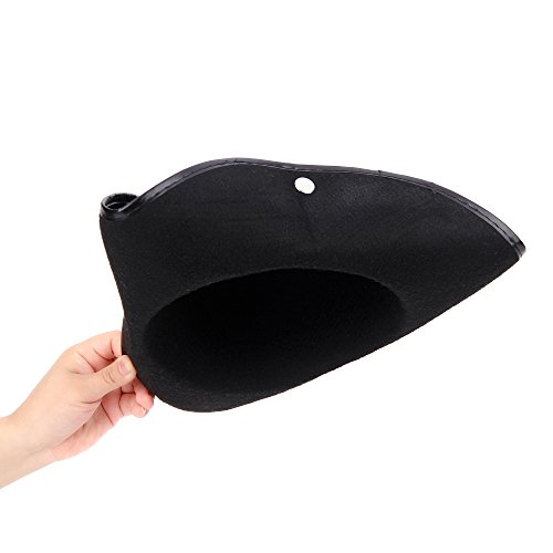 Fun Central (AZ940) Tricorn Felt Pirate Hat (Felt Tricorn Hat)