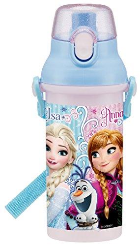 Frozen Botella de agua kawaii & # X3000; de plástico
