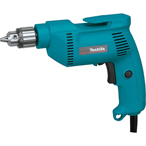 Electric Drill, 3/8 In, 0 to 2500 rpm, 4.9A