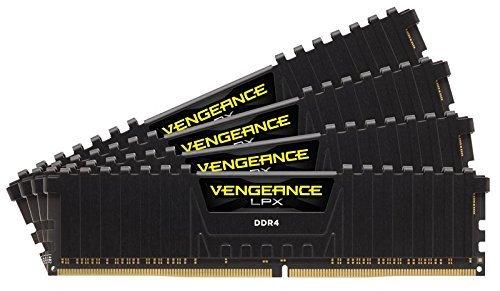 Corsair Vengeance LPX 32GB (4 x 8GB) DDR4 DRAM 2400MHz (PC4-19200) C14 memory kit for DDR4 Systems