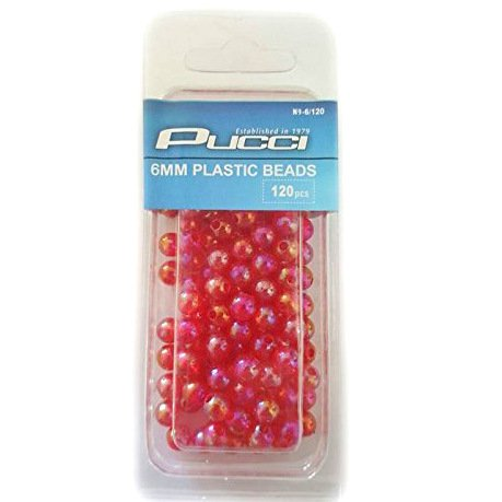 Fishing Beads by Pucci - Available in Multiple Colors & Sizes - Great for Customizing Rigs, Fly Fishing, Creating Attractive Flies, Protecting Swivels & Knots 5mm (Lure Beads)