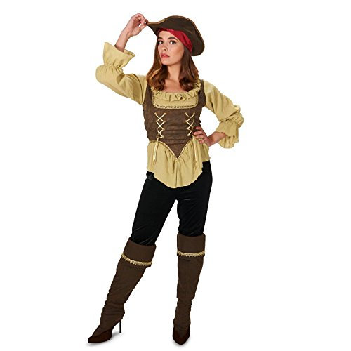 Renegade Pirate Queen Adult Costume S (Pirate Queen Costume)