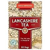 British Lancashire Tea Bags 80 Bags x2 (Total 160 Bags)