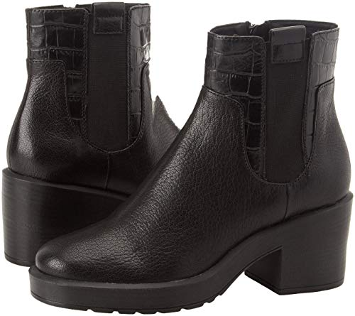 Stivali D Kenly Nero C9999 black Chelsea Mid Donna A Geox FIOwnqxA6F