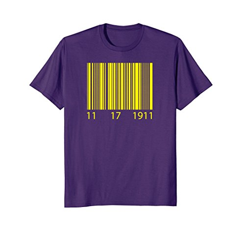 Mens Omega Psi Phi 11.17.1911 Que Barcode XL (Omega Psi Phi Clothing)
