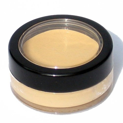 Graftobian HD Crème Foundation Corrector 1/4oz, Yellow Hi-Lite (Deep Red & Purple Concealer) (Lights Red Hi)