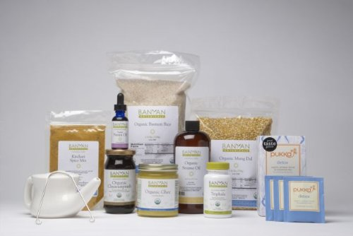 Banyan Botanicals Ayurvedic Deluxe Cleanse Kit - Deluxe Supplies Needed for a 7-Day Detoxifying Cleanse at Home