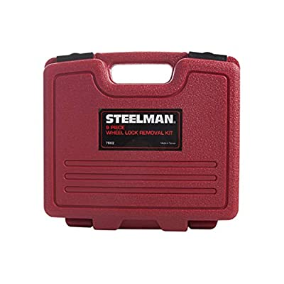 Steelman 75032 9-Piece Hubcap and Wheel Lock Removal Kit: Automotive