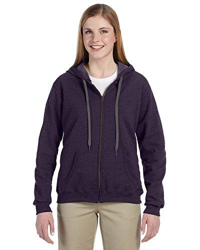 Vintage Fleece Hooded Zip Sweatshirt - 4