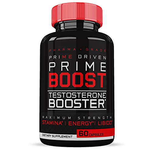 Prime Labs - Test Booster for Men - Naturally Increase Stamina, Endurance & Strength - 60 Capsules (Best Natural Test Booster)