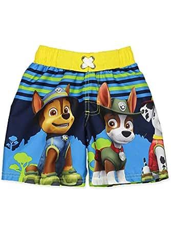 Nickelodeon Paw Patrol Boy's Swimwear Swim Trunks - Blue - 7