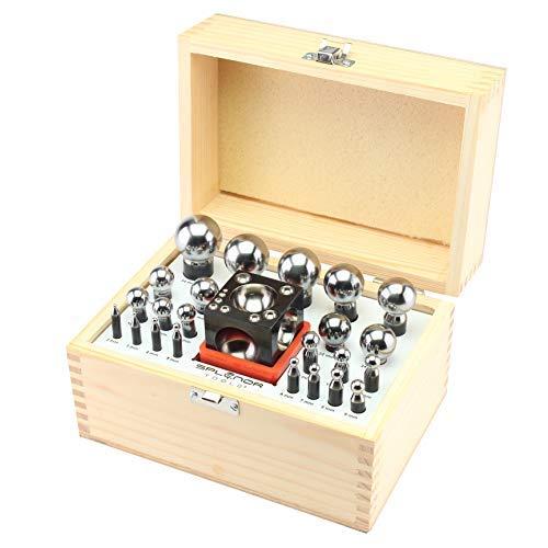 Splenor tools Square dapping Block & 23 Punch Set