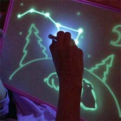 cmboom Tableta Luminosa Infantil de Pizarra mágica con la luz para ...