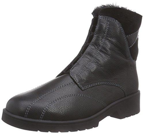 Nero schwarz 0100 Ganter Stivali Ellen G Da Donna Weite stiefel A4Sxa1