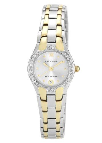 Anne Klein  10/N6927SVTT – Reloj de cuarzo para mujer, con correa de acero inoxidable, color plateado