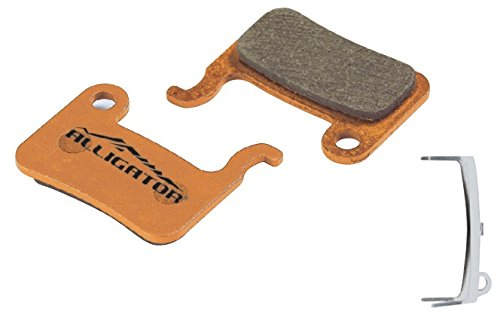 Alligator Organic MTB Bike Disc Brake Pads for Shimano XTR/Deore/Saint/Hone/SLX/Alfine (1 Pair) Alligator Disc