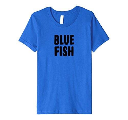 Kids Blue Fish Halloween Costume T-shirt Easy Group Idea 6 Royal -