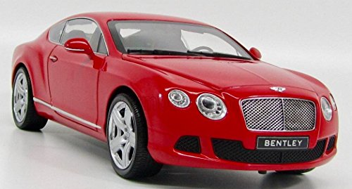 Minichamps 100139922Bentley Continental GT, 1: 18Scale–Red