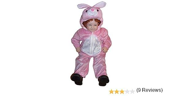 J02 Tamaño 1-3A (92-98cm) Disfraz de conejo para bebés y niños ...