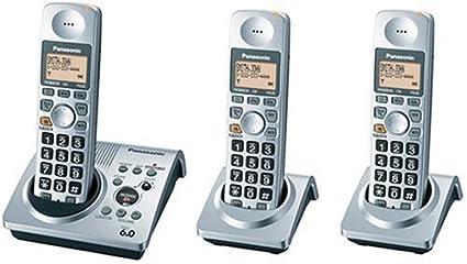 amazon com panasonic dect 6 0 series 3 handset cordless phone rh amazon com User Manual Template Instruction Manual Example