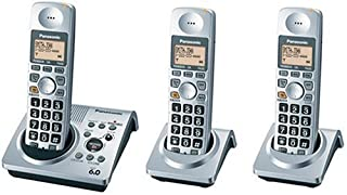 Panasonic DECT 6.0-Series 3-Handset Cordless Phone System with Answering System (KX-TG1033S) (B000LYAX1G) | Amazon price tracker / tracking, Amazon price history charts, Amazon price watches, Amazon price drop alerts