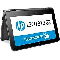 HP x360 310 G2 Convertible Touch Screen PC, 11.6 Screen, Celeron N@1.6GHz, 8GB RAM, 128GB SSD, in Black (Certified Refurbished)
