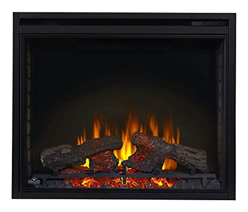 Napoleon NEFB33H Ascent Built-In Electric Fireplace, 33 Inch (33 Inch Built In Electric Fireplace)