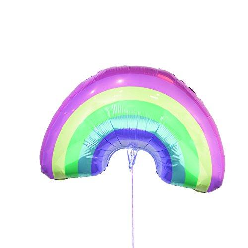 Talking Tables We Heart Unicorns Giant Pastel Rainbow Balloon 31