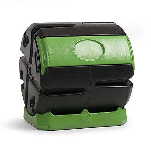 - Forest City Hot Frog 37-Gallon Recycled Plastic Compost Tumbler