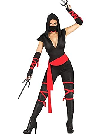 DISBACANAL Disfraz Ninja Sexy para Mujer - Único, M: Amazon ...