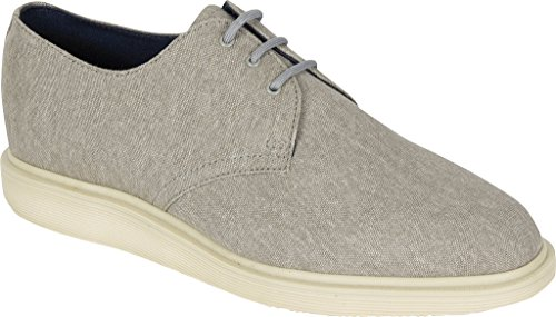 Dr. Martens Mens Torriano 3 Eye Shoe Mid Grigio Taglia Uk 11 (12 M Us Men)