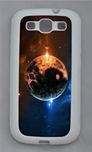 fancy case Planet Art TPU White case/cover for Samsung Galaxy S3 I9300