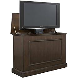 "Touchstone Mini Elevate TV Lift Cabinet SlimLift Pro TV Lift TVs up to 40.75"" Wide (Espresso)"