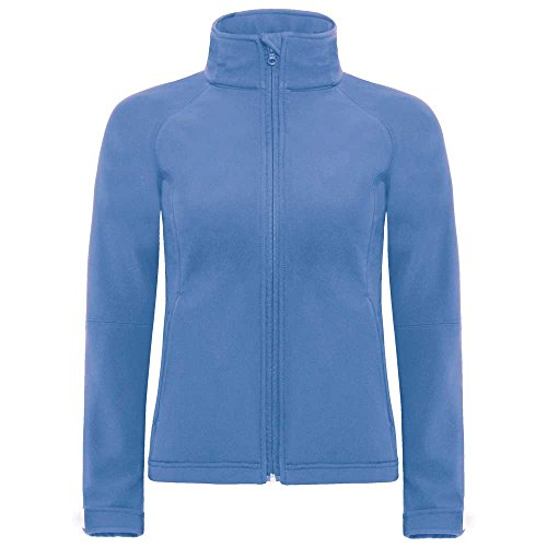 Full Zip Softshell Ladies Performance Hooded Jacket Azure Fleece amp;c High B fXIq4