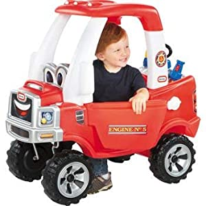 Little Tikes Cozy Fire Truck - (Amazon Exclusive) from MGA Entertainment