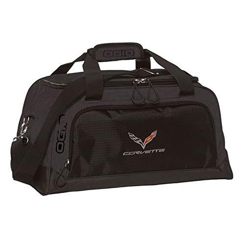 (Corvette OGIO Sport Duffle Bag with C7 Cross Flags Logo : C7)
