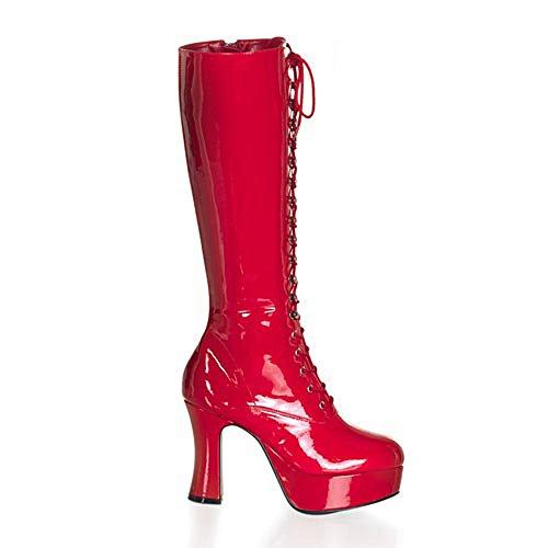 Rot Lack de Perfect rojo mujer sintético Heels Rot Zapatos vestir de rojo para material rojo p6xTWwOaWq