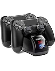 VOYEE Charger Replacement for P4 Controller, Charging Station Compatible with P4 / P4 Slim / P4 Pro Controller, Controller Charger with Fast Charging, Chip Protection, LED Indicator