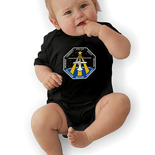 STS-121 Mission Patch Baby Suits Body Suits Black