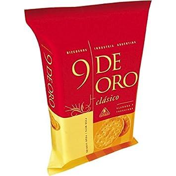 9 De Oro Bizcochos De Grasa 200gr