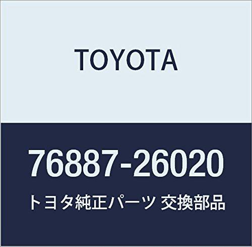 TOYOTA Genuine 76887-26020 Spoiler Seal