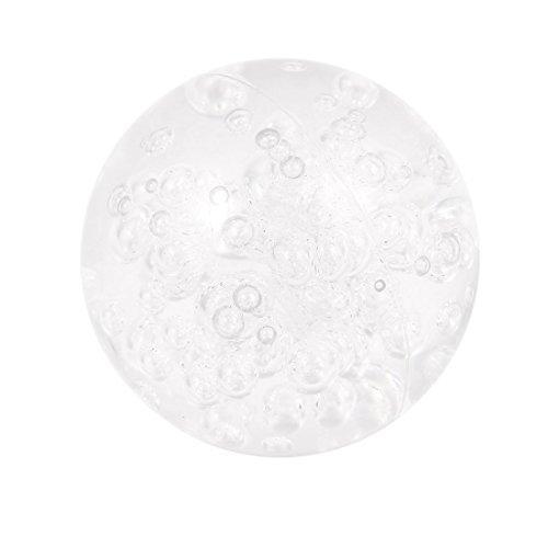 eDealMax 58 mm Diámetro de la burbuja de acrílico anticorrosivo malabarismo de contacto balón de un puñetazo