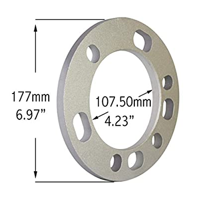 Wheel Accessories Parts Set of 2 Wheel Spacers 12mm (1/2